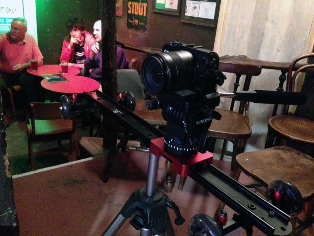 Canon-m video shoot