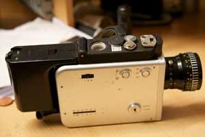 Nizo super 8 movie camera