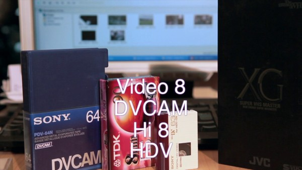 HDV tape transfer to computer