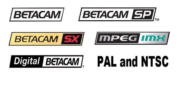 Betacam transfer dvd